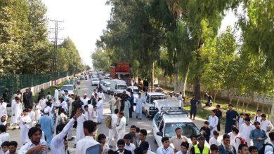 Photo of سکالرشپ بند، باجوڑ کے طلبہ کا ایم این اے کی رہائشگاہ کے سامنے احتجاج