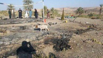 Photo of میرعلی: خانہ بدوشوں کی عارضی بستی میں آگ لگ گئی، چار دن کی بچی جاں بحق
