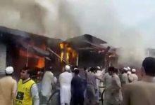 Photo of لوئردیر کے خال بازار میں خوفناک آتشزدگی، 2 ہوٹل اور 8 دکانیں جل کر خاکستر