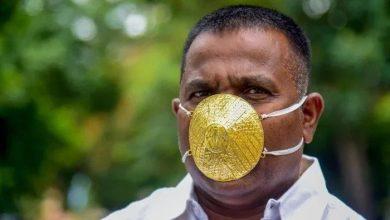 Photo of ماسکس کی اقسام میں نیا اضافہ، بھارتی شہری نے سونے کا ماسک بنوالیا