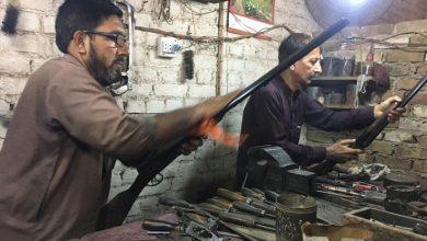Photo of درہ آدم خیل میں اسلحہ سازی کا کاروبار ماند پڑنے لگا